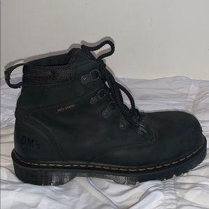 Dr. Martens steel toe boots!